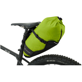VAUDE Trailsaddle Bolsa de Sillín 12l, black/green